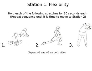 Quick and Easy Warm up Stations
