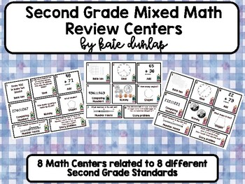 Quick and Easy (for Kids and Teachers!) 2nd Grade Math Centers