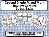 2nd Grade Mixed Review Math Centers