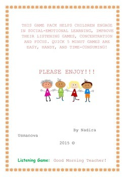 Quick and Easy games for K-2
