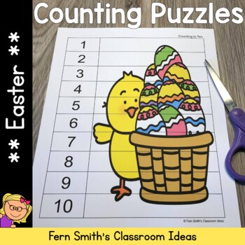 Easter Math Counting Puzzles