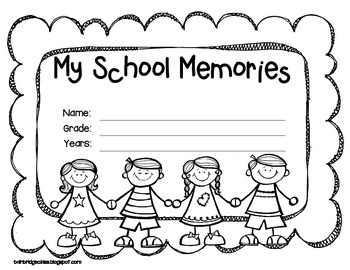 Quick and Free End of the Year Memory Book