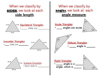 Quick and Simple Triangle Notes