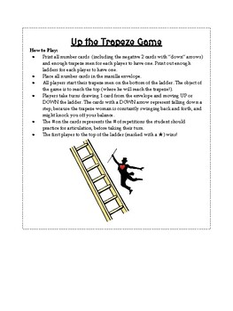 Quick artic trapeze circus game (open-ended game, quick artic, 5 minute kids)