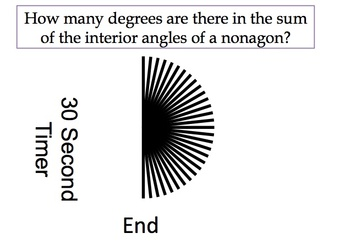 Quick fire questions on Angles in a Polygon