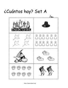 Quick images cards Spanish