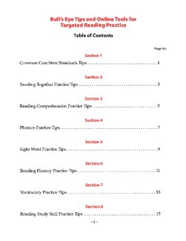 Quick planning for Common Core reading activities!