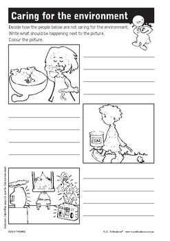 Quick themes – Clean up Australia Day – Ages 5–9