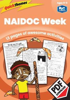 Quick themes — NAIDOC Week — Ages 6—9 digital unit