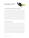 Quick write intro to hero lesson