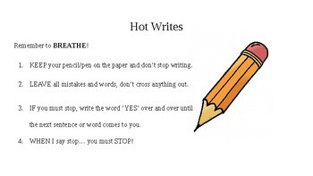 Personal Writing Activity (Quick Write)