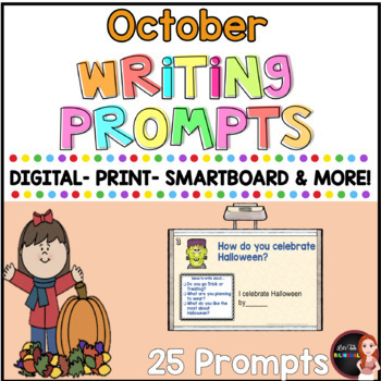 Quick writing prompts-  Prompts for Daily Journal Writing