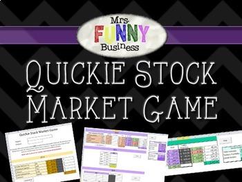 Quickie Stock Market Simulation