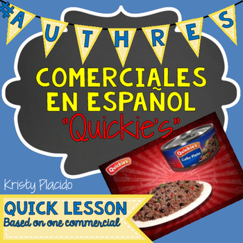 Quickie's Arroz Commercial and Activities! Gallo Pinto! Food Unit!