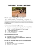 Quicksand Lesson And Science Experiment/Demonstration