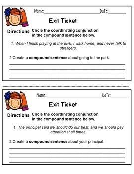 Compound Sentences All You Need