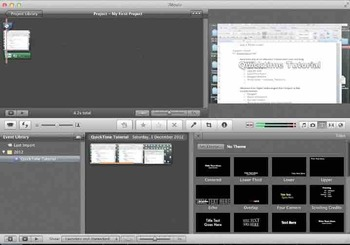 Quicktime iMovie Tutorial: How to