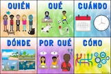 Question Words Poster – Spanish