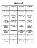 Quien eres - Interview Grid