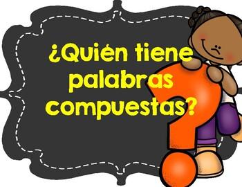 ¿Quién tiene palabras compuestas? - I have, who has compound words
