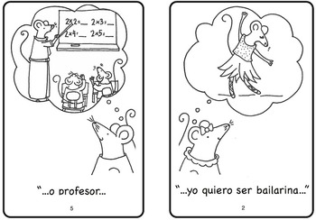 Quiero Ser Spanish Printable Minibook