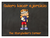 Spanish Exercise and Sports Story - Quiero hacer ejercicio