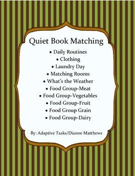 Quiet Book Matching