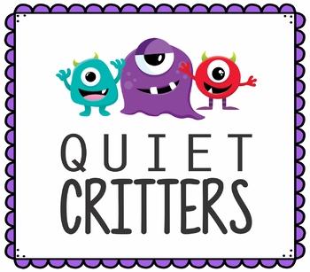 Quiet Critter Tag