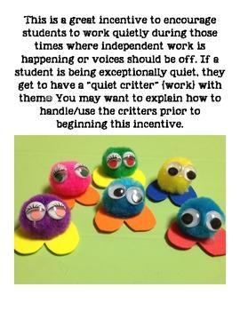 Quiet Critters!