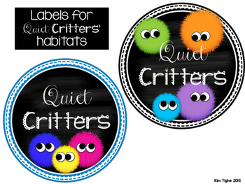Quiet Critters! {Behavior Management Tool for Primary Classrooms}