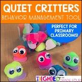 Quiet Critters! {Behavior Management Tool for Primary Classrooms}