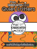 Quiet Critters Jar Label [FREEBIE]