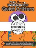 Quiet Critters Jar Label [FREEBIE]