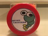 Quiet Critters Round Art Label