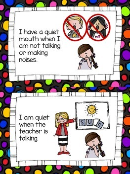 Quiet Mouth Social Story