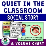 Quiet in the Classroom - Social Story for Students with Echolalia