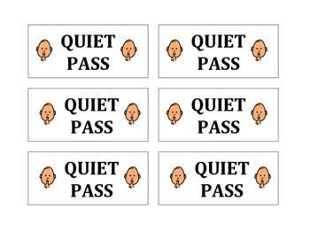 Quiet Pass - Cool Down Break Pass