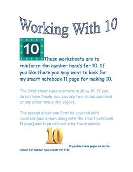 number bonds for 10