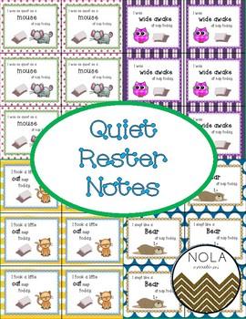 Quiet Rester Notes