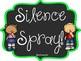 Quiet/Silence Spray