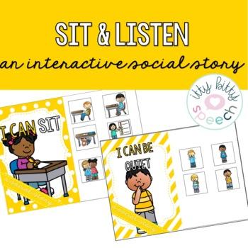 Quiet & Sit Interactive Social Stories