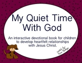 Quiet Time Journal For Kids  (9 weeks)