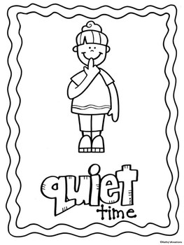 Quiet Time Poster FREE