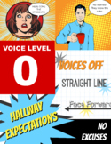 Quiet Voices Zero Noise Hall Poster Printable