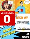 Quiet Voices Zero Noise Hall Poster Printable