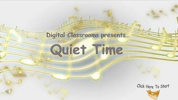 Quiet Work Music- 8 instrumental songs+ Interactive PPT