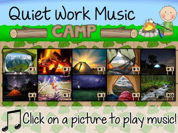 Quiet Work Music At Your Fingertips - Camping