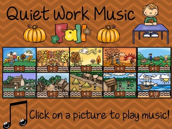 Quiet Work Music At Your Fingertips - Fall Theme