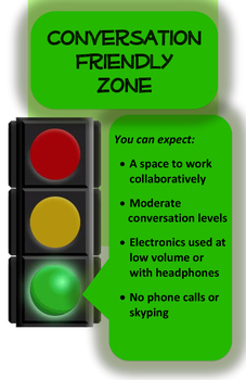 Quiet Zones (Library/Learning Commons) - GREEN LIGHT