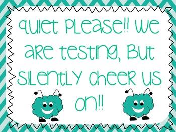 Quiet we are Testing